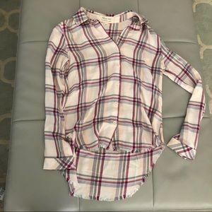 Cloth & Stone Buttondown Tunic XS New